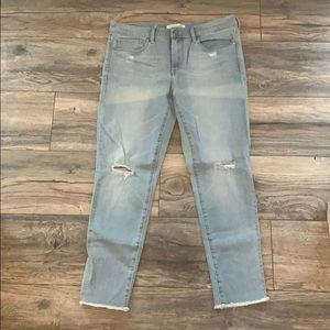 NWOT Banana Republic Distressed Jeans Size 30